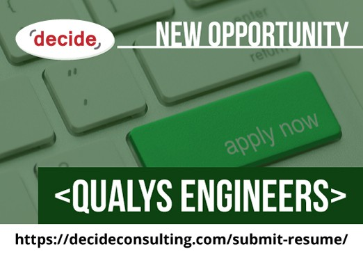 Decide Consulting Hiring Qualys