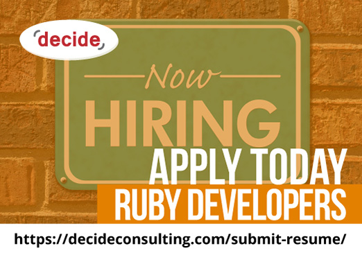 decide consulting hiring Ruby Developers