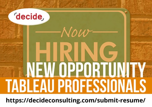 Decide Consulting Hiring Tableau