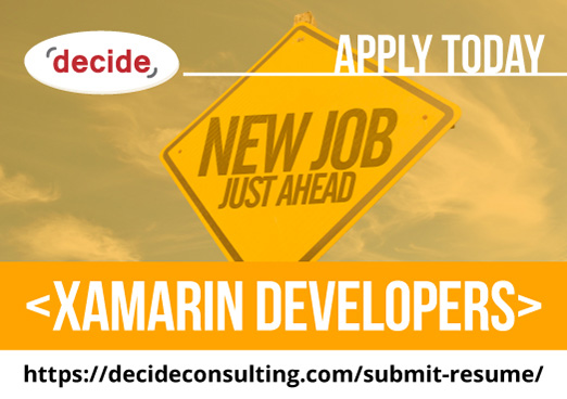 decide consulting hiring xamarin developers