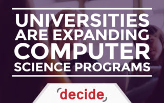 Universities expanding Computer Science