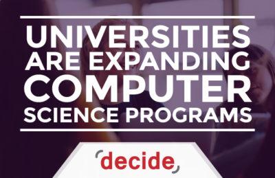 Universities expanding Computer Science