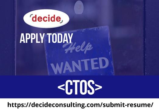 We're hiring CTOs