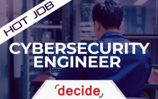 Hot Job CyberSecurity Engineer
