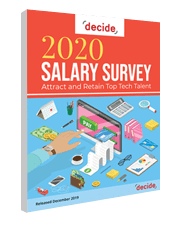 Decide Consulting 2020 Salary Survey Side Image