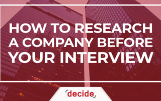How to Research a Company before Your Interview