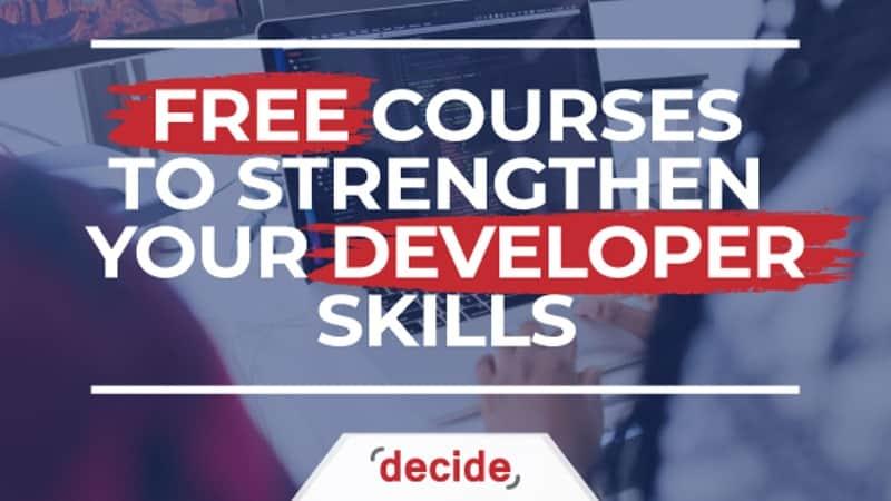 free Courses developer skills