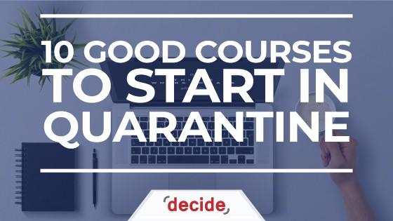 good IT courses during quarantine