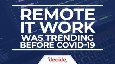 remote work trending before covid