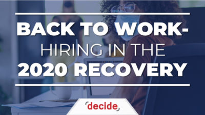 2020 Recovery Back to Work