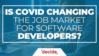 Is Covid Changing the Job Market for Software Developers