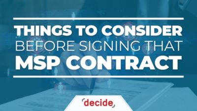MSP Contract