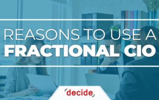 reasons to use fractional CIO