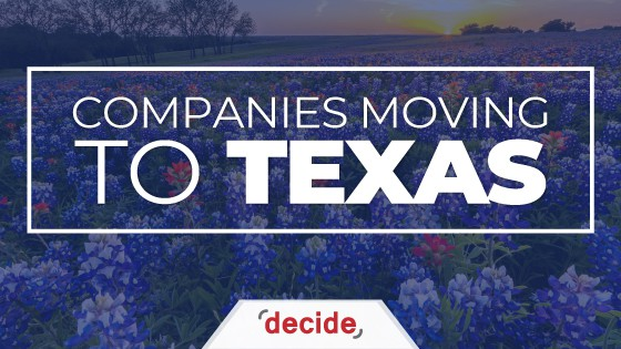 Companies Moving To Texas