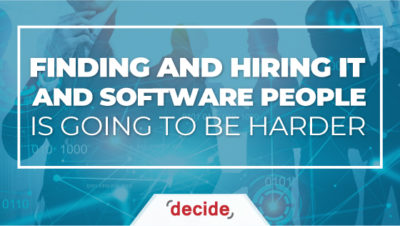 finding hiring IT people Harder
