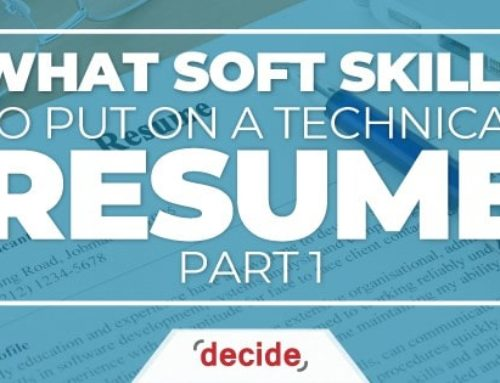 What Soft Skills to put on a Technical Resume Part 1