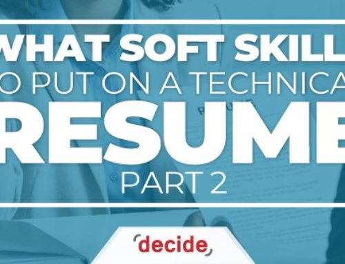 What Soft Skills to put on a Technical Resume Part 2