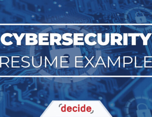 Resume Example – Cybersecurity Professional