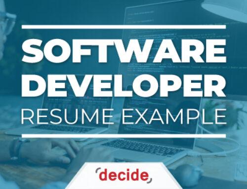 Resume Example – Software Developer